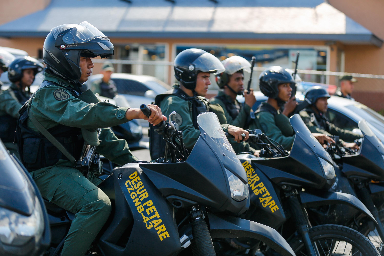 Más de 500 uniformados fueron desplegados en Petare (13)
