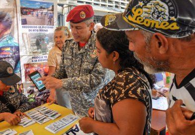 PNB instruye a vecinos de la parroquia Sucre sobre aplicación de Patrullaje Inteligente