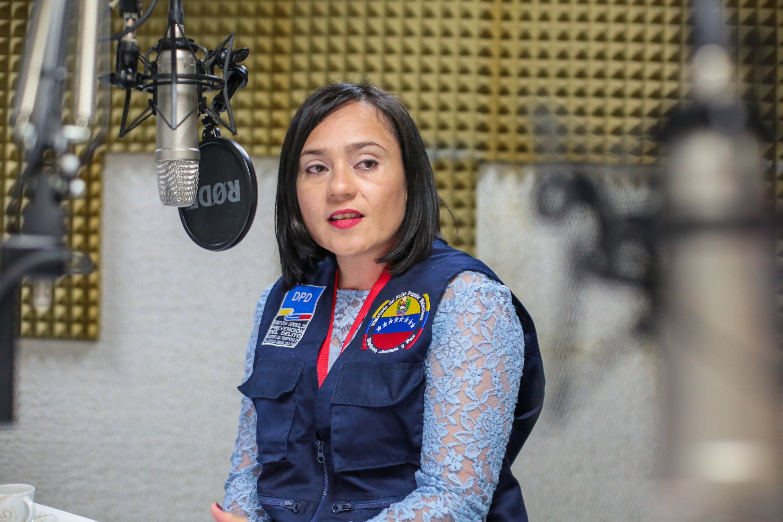 Yusmar Morón, Directora de la Red Nacional de Prevención del Delito (3)