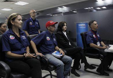 Visipol inició jornada de capacitación a supervisores policiales a través de videoconferencias