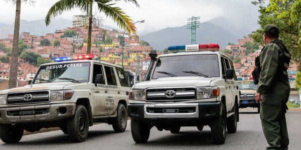 550 funcionarios fueron desplegados en la parroquia Petare para brindar seguridad (13)