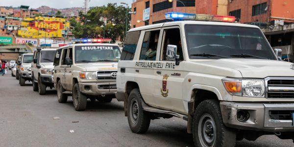 550 funcionarios fueron desplegados en la parroquia Petare para brindar seguridad (18)