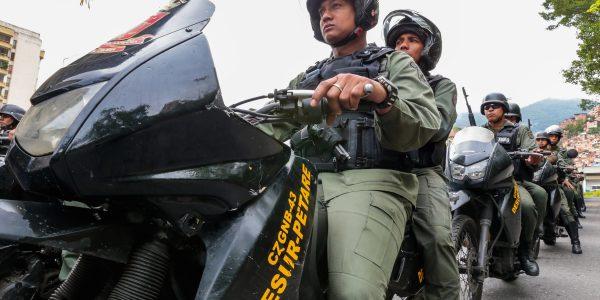 550 funcionarios fueron desplegados en la parroquia Petare para brindar seguridad (7)