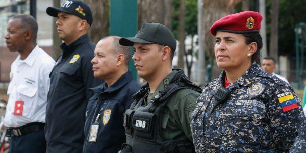 Desplegados 706 funcionarios en Plaza Venezuela para ofrecer seguridad y tranquilidad a los vecinos (1)