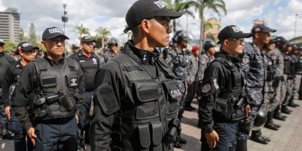 Desplegados 706 funcionarios en Plaza Venezuela para ofrecer seguridad y tranquilidad a los vecinos (2)