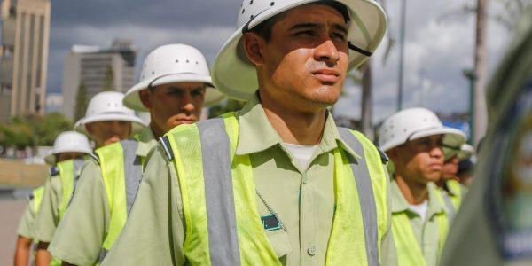 Desplegados 706 funcionarios en Plaza Venezuela para ofrecer seguridad y tranquilidad a los vecinos (6)