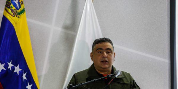Director nacional de Protección Civil, GB Randy Rodríguez
