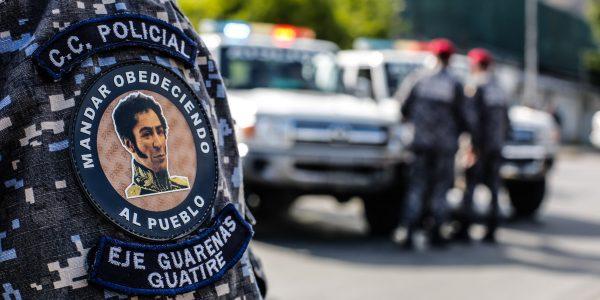 Funcionarios de la PNB refuerzan Cuadrantes de paz en Guarenas (2)