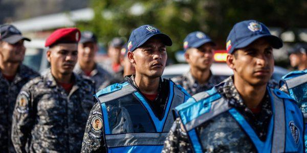 Funcionarios de la PNB refuerzan Cuadrantes de paz en Guarenas (9)
