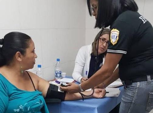 Ipsopol beneficia a la comunidad de San Bernardino con jornada médico – asistencial (1)