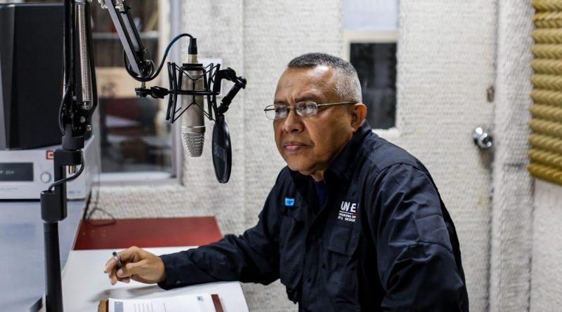 José Muñoz, vicerrector de Desarrollo Académico de la Universidad Nacional Experimental de la Seguridad (Unes (2)