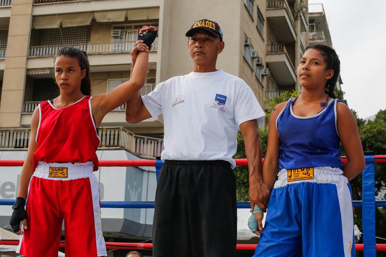 ONA y Glorias Deportivas dan un K.O. a las drogas en Chacaíto (4)