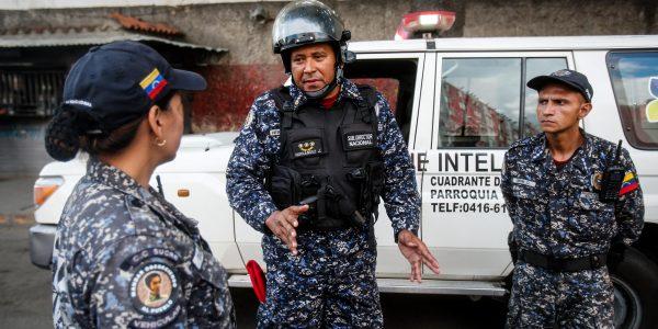 PNB activó dispositivo de seguridad en el Cuadrante Nº 2 de Antímano (3)