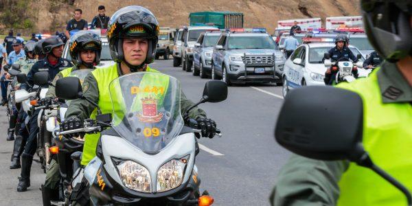 Refuerzan seguridad con despliegue de 300 funcionarios en Miranda (24)