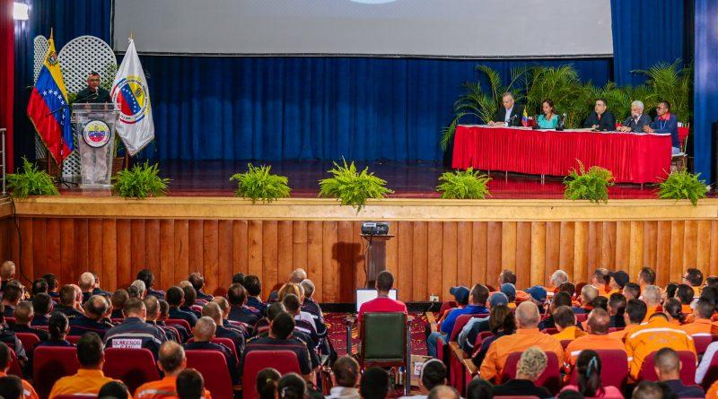 Reunión de trabajo con los jefes de Protección Civil, Bomberos estadales y encargados de las Regiones Estratégicas de Evaluación de Daños y Análisis de Necesidades (Redan) (21)