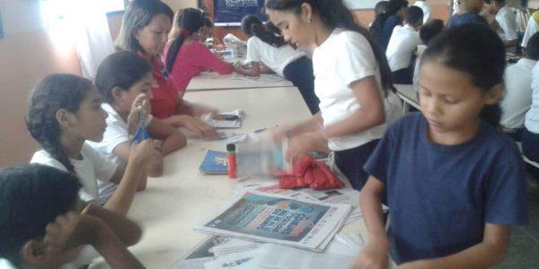 Senades promueve Periódico Escolar como alternativa de Prevención en escuela de Cojedes (2)
