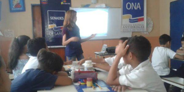 Senades promueve Periódico Escolar como alternativa de Prevención en escuela de Cojedes (4)