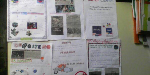 Senades promueve Periódico Escolar como alternativa de Prevención en escuela de Cojedes (5)
