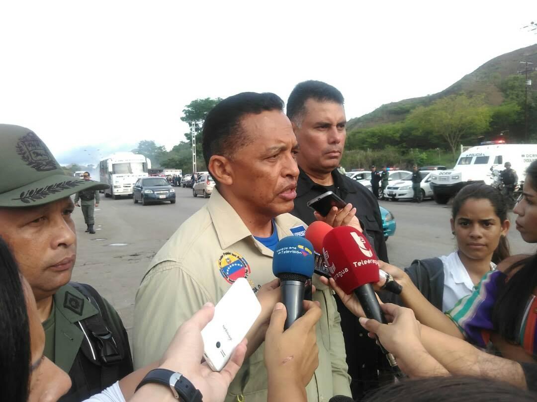 Viceministro de Seguridad Ciudadana, GD Endes Palencia