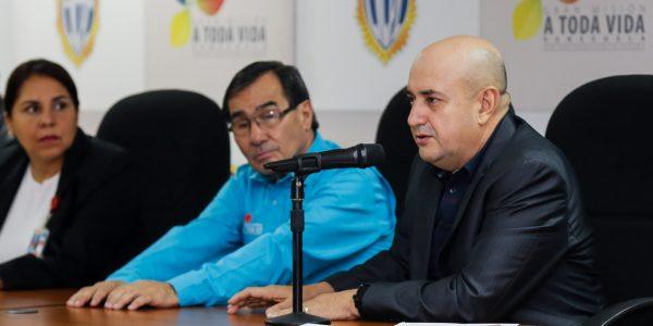 Viceministro del Sistema Integrado de Investigación Penal, Comisario General Humberto Ramírez