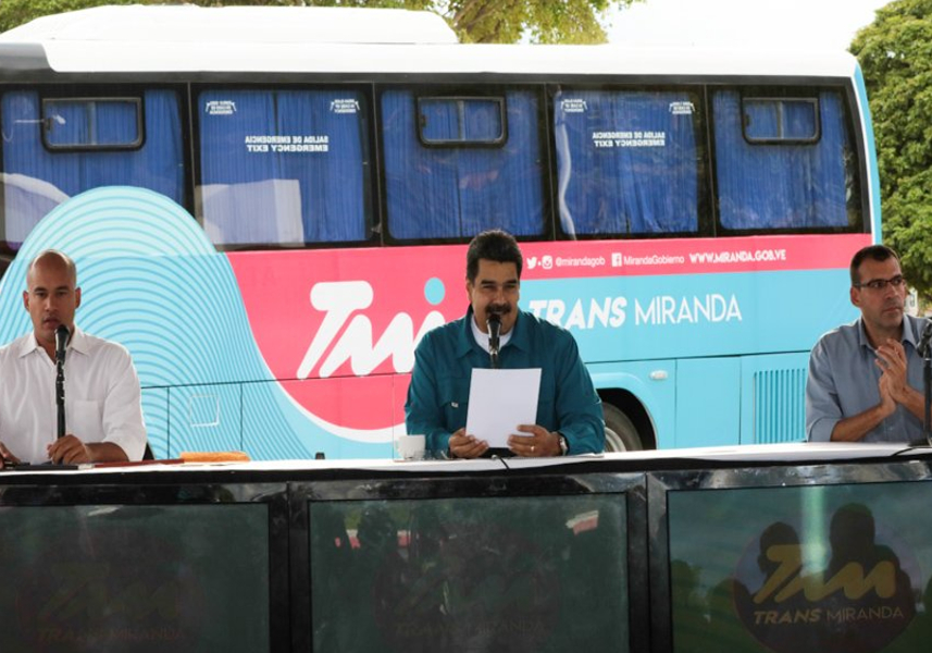 Jefe de Estado oficializa inauguración de TransMiranda