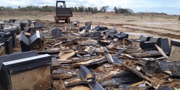 Destruidas 298 máquinas traganiqueles en Anzoátegui (2)