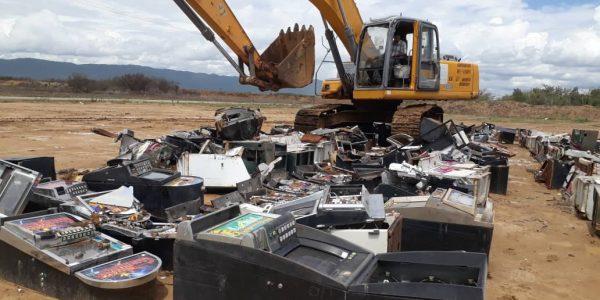 Destruidas 298 máquinas traganiqueles en Anzoátegui (4)