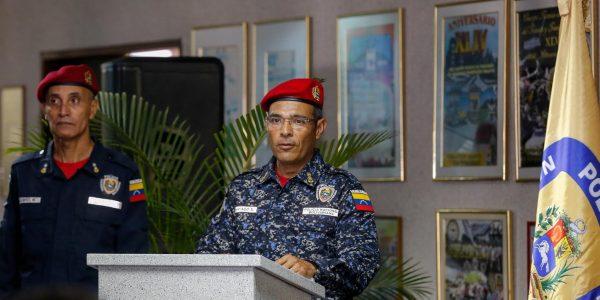 Director de Tránsito Terrestre de la PNB, Rubén Santiago