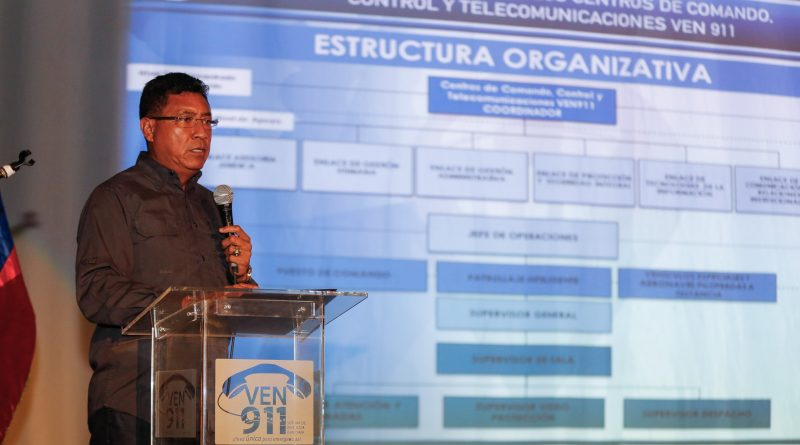 Director general de los CCCT VEN911, GD José Eliécer Pinto Gutiérrez (2)