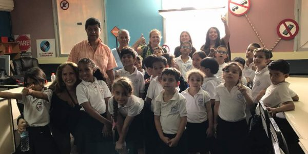 Niños del estado Miranda visitaron sede de tránsito para fortalecer valores de prevención (1)