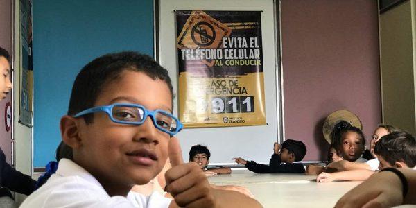 Niños del estado Miranda visitaron sede de tránsito para fortalecer valores de prevención (3)