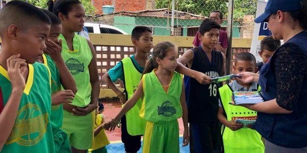 Poder Popular de Las Cocuizas elevó campaña comunicacional Yo quiero Paz en Maturín (1)