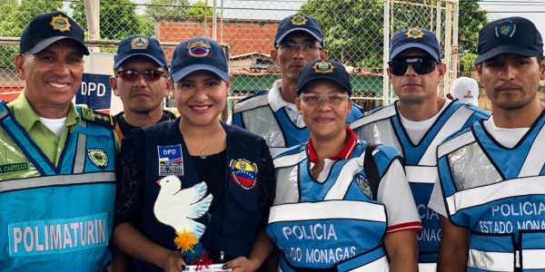 Poder Popular de Las Cocuizas elevó campaña comunicacional Yo quiero Paz en Maturín (11)