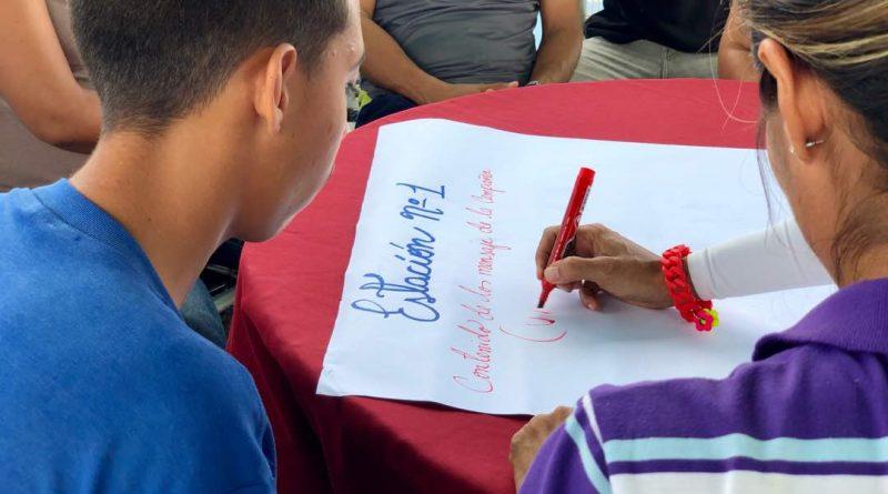 Poder Popular de Las Cocuizas elevó campaña comunicacional Yo quiero Paz en Maturín (12)