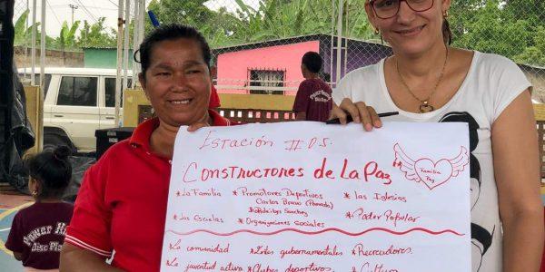 Poder Popular de Las Cocuizas elevó campaña comunicacional Yo quiero Paz en Maturín (8)