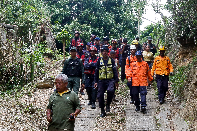 Rescatadas siete personas en el Parque Nacional Waraira Repano (2)