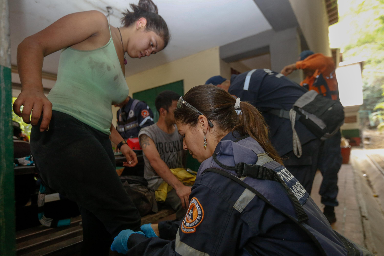 Rescatadas siete personas en el Parque Nacional Waraira Repano (3)