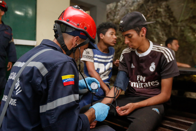 Rescatadas siete personas en el Parque Nacional Waraira Repano (7)