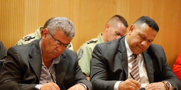 Reunión con los jefes de los organismos de seguridad del país (10)