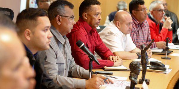 Reunión con los jefes de los organismos de seguridad del país (14)