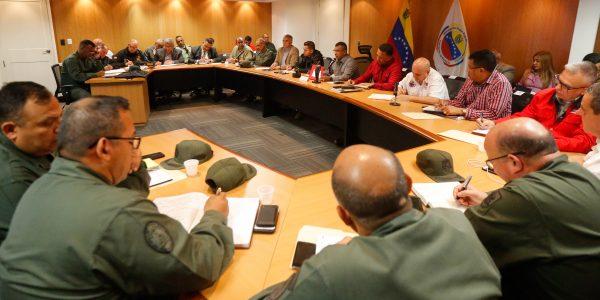 Reunión con los jefes de los organismos de seguridad del país (7)