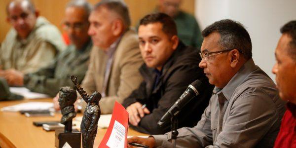 Reunión con los jefes de los organismos de seguridad del país (8)