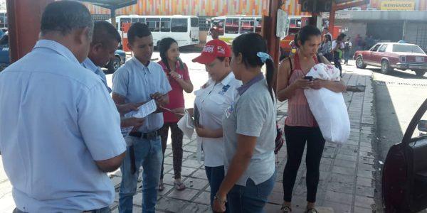 Senades abordó a más de 450 personas en el Terminal Terrestre de Barquisimeto (1)