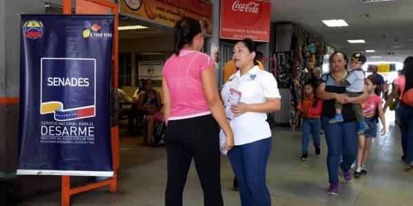 Senades abordó a más de 450 personas en el Terminal Terrestre de Barquisimeto (3)