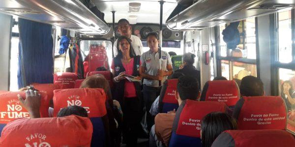 Senades abordó a más de 450 personas en el Terminal Terrestre de Barquisimeto (8)