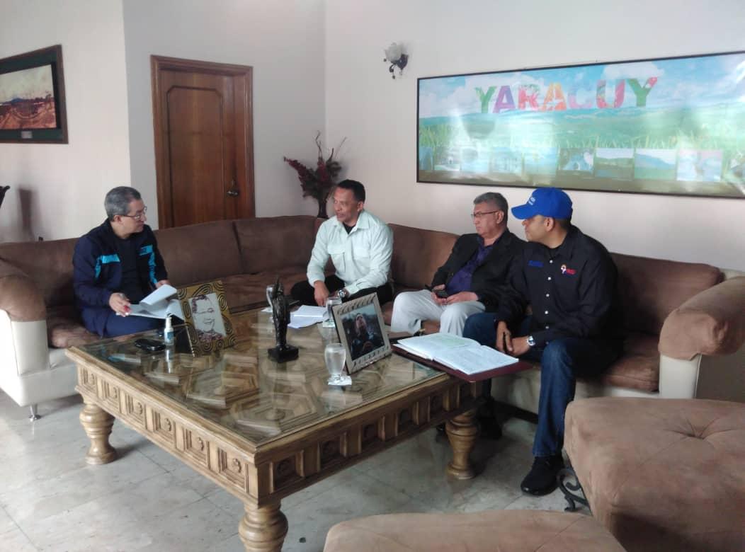 Viceministro Palencia supervisó avances de acuerdos de seguridad en estados centrales