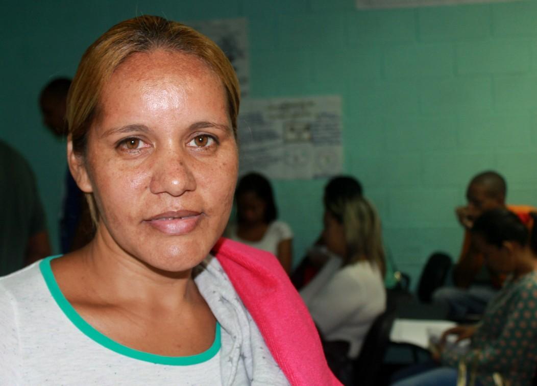 Yaritza Granado, representante de un infante.