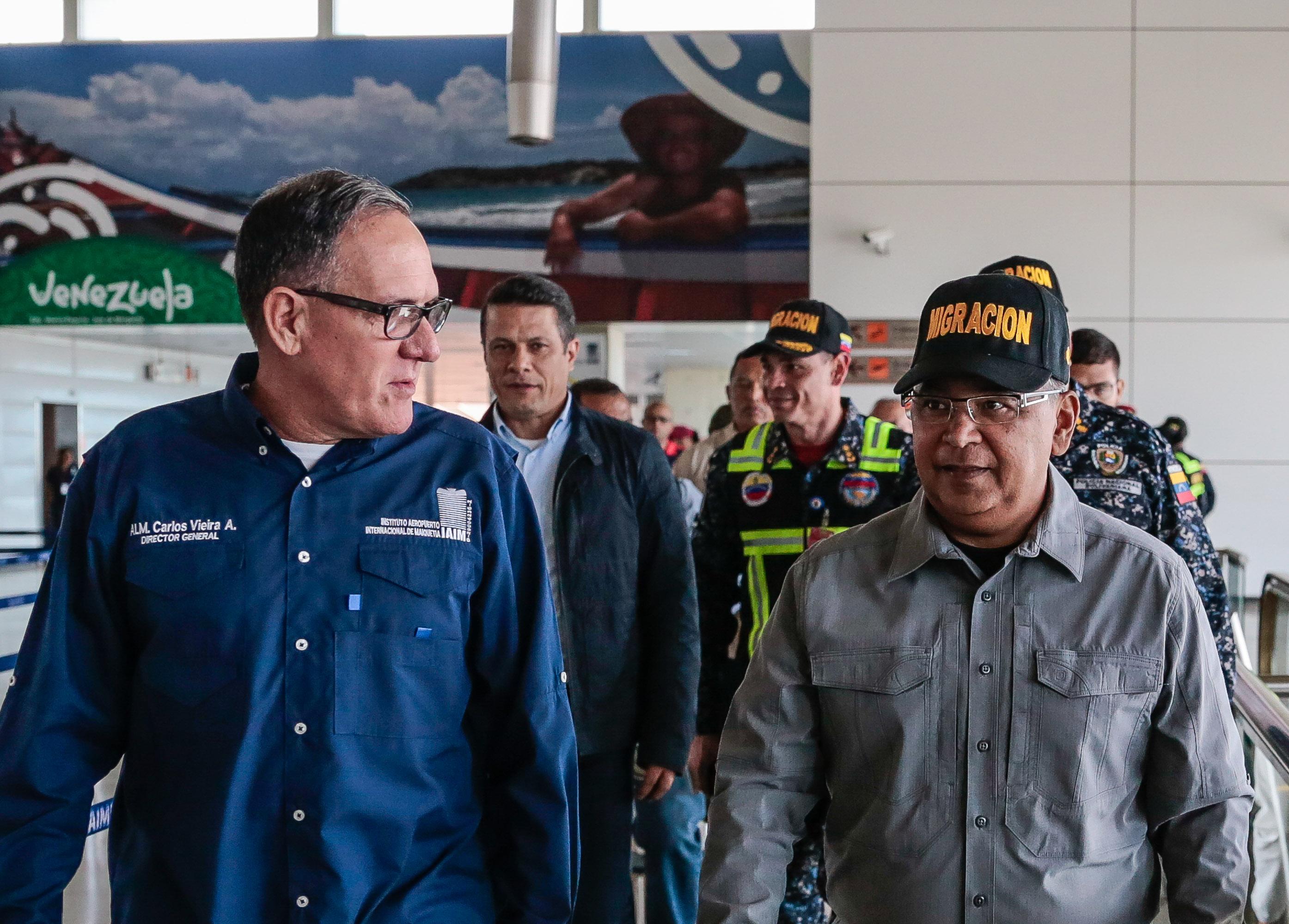 Activado Servicio de Policía de Migración de la PNB en el Aeropuerto Simón Bolívar (8)