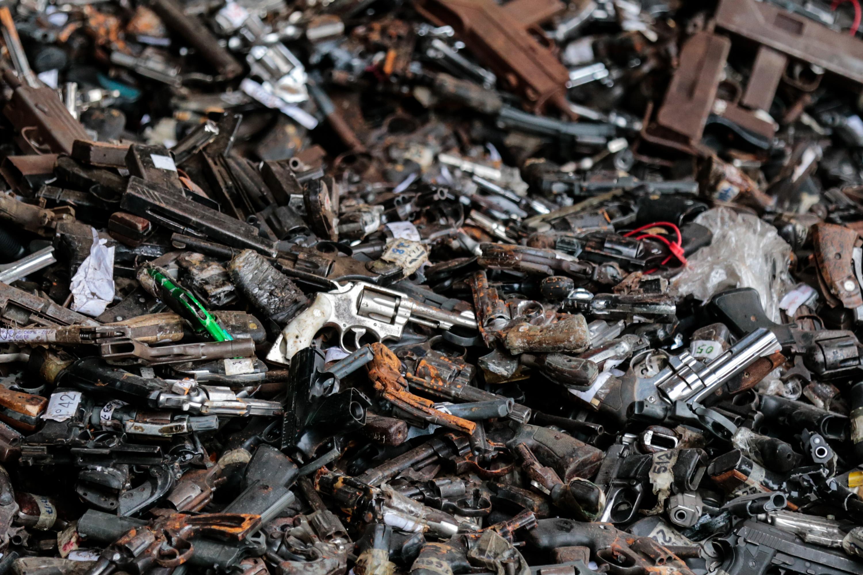 Destruidas más de 15 mil armas de fuego en el estado Zulia (4)