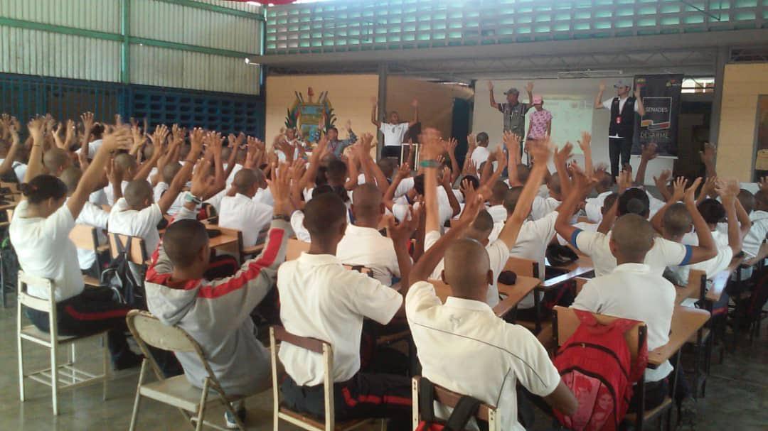 En Guárico Senades construye espacio para la paz junto a los estudiantes de la Unes